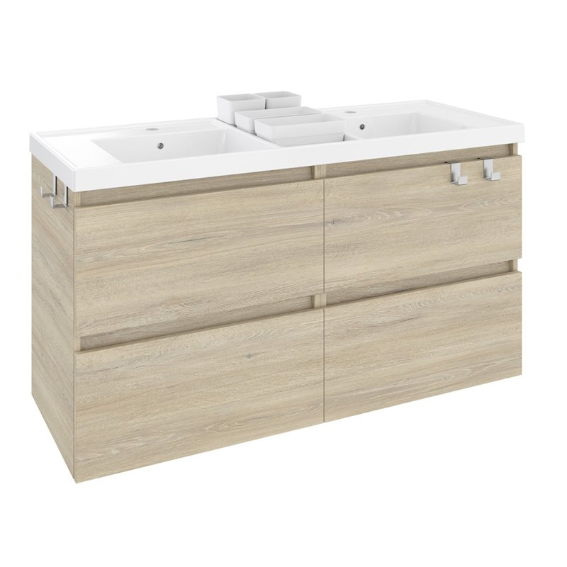 Mueble b resina 120cm roble materiales de f brica - Mueble de resina para exterior ...