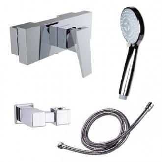 Grifo de ducha Ventu con kit de ducha