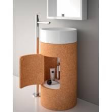 Lavabo Round 45 con mueble-pedestal