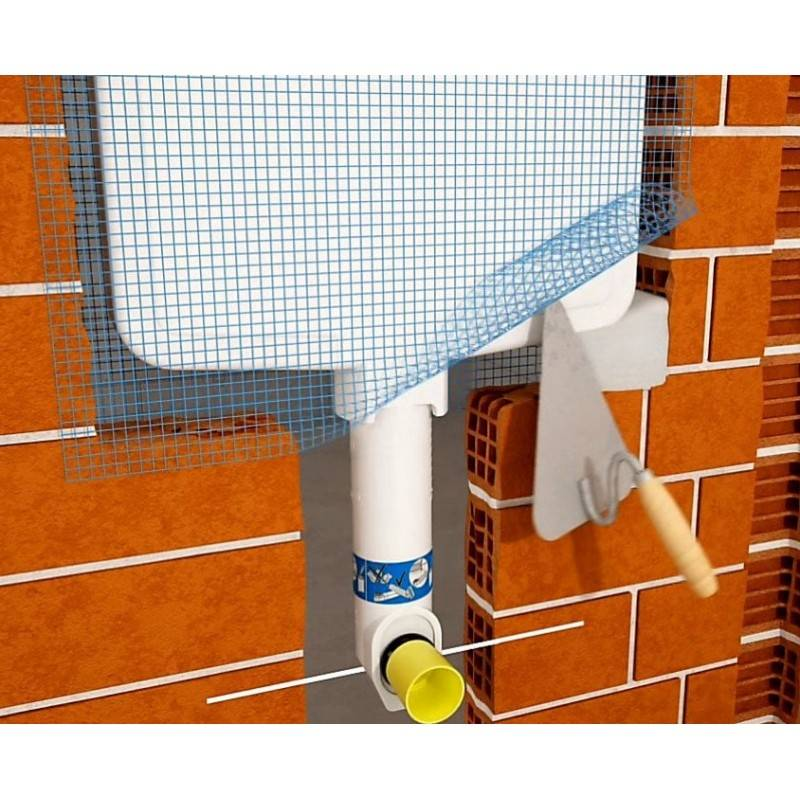 Cisterna empotrada geberit sigma 8cm para inodoro a suelo for Cisterna empotrada