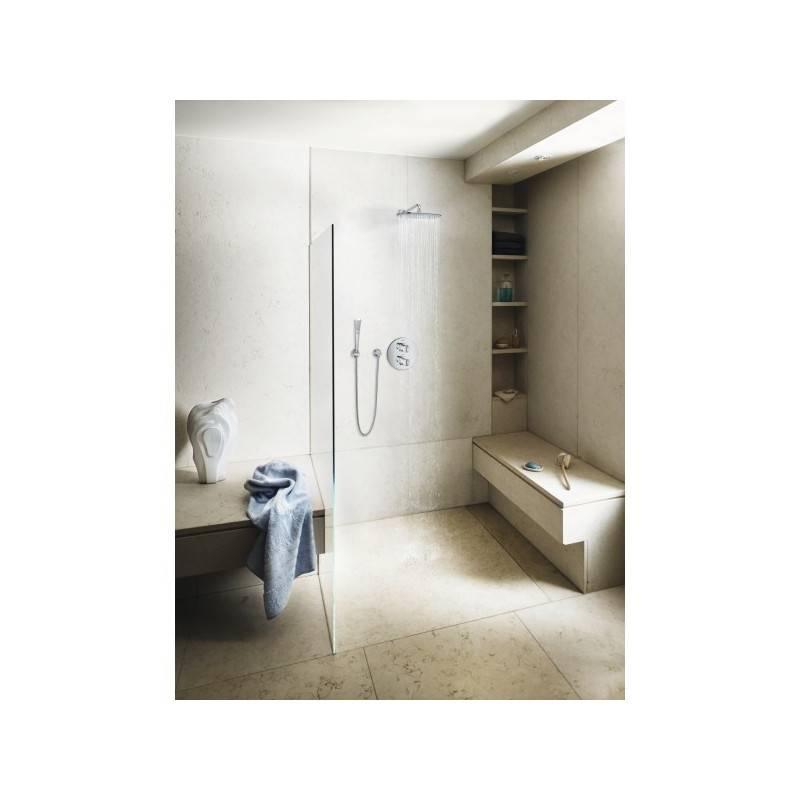 Grifo termostato para ba o ducha grohe veris circular for Termostato para ducha
