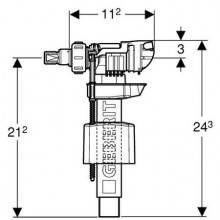Válvula de alimentación lateral 380