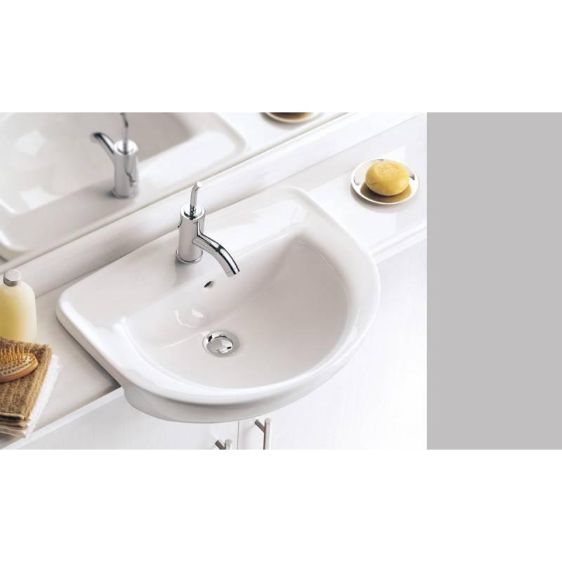 lavabo semiencastrado gala flag 51 x 40 cm materiales de