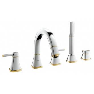 Grifo combinación para baño Grohe Grandera Oro