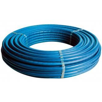 Rollo de tubería MultiSKIN4 con aislante azul