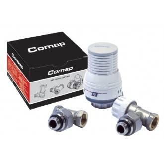 Kit termostático Comap con detentor