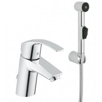 Grifo lavabo S con set de ducha Grohe Eurosmart