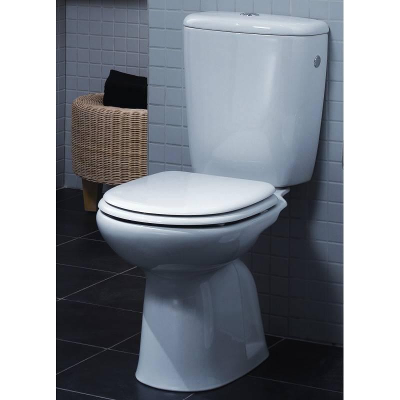 Inodoro cisterna baja benissa materiales de f brica for Inodoros completos baratos