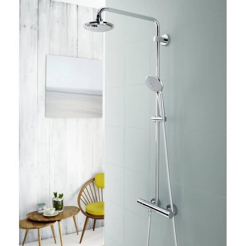 columna termost tica de ducha grohe euphoria system 180 On columna de ducha termostatica grohe