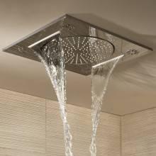 """Rociador de ducha mural 3 chorros Grohe Rainshower F-Series 15"""""""