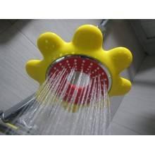 Teleducha de 1 chorros Rojo Grohe Rainshower Icon 100