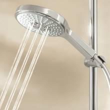 Conjunto de ducha con barra de 90 cm Grohe Power&Soul Cosmopolitan 160
