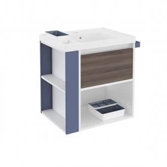 Mueble 60cm Fresno-Blanco Azul Bath+ B-Smart B080106011928 ... e52e5b6226bd