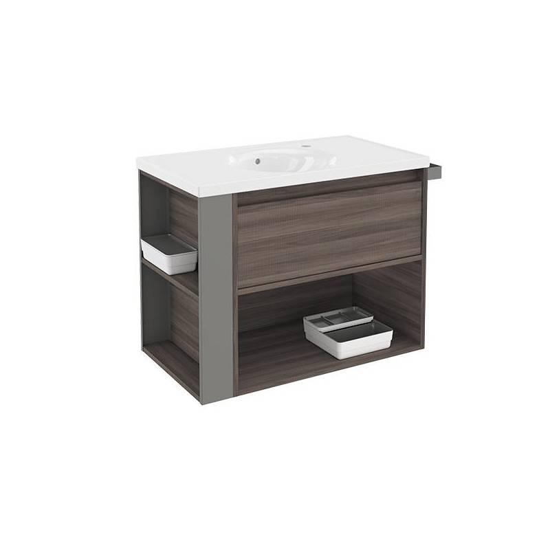Mueble 80cm FresnoGris LP Bath+ BSmart  Materiales de Fábrica