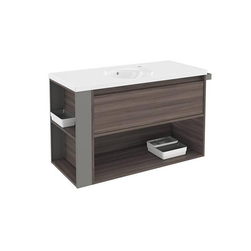 Mueble 100cm FresnoGris LP Bath+ BSmart  Materiales de Fábrica