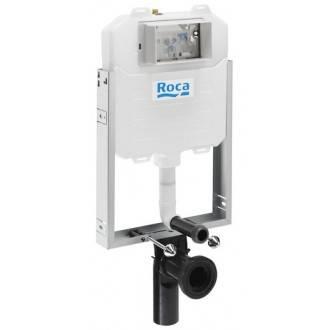 Soporte con cisterna Basic WC Compact Roca