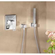 Set con soporte de ducha y teleducha Grohe Euphoria Cube Stick