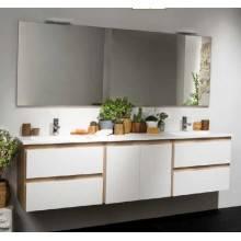 Mueble Life 150cm 4 cajones y 1 puerta centrada CON LAVABO B10