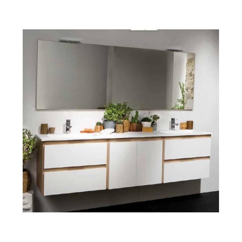 Mueble life de 150 cm materiales de f brica for Mueble bano dos senos 150