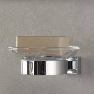 Soporte con Jabonera Essentials Cube Grohe