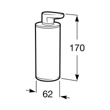 Dosificador de encimera metal Victoria Roca
