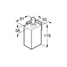 Dosificador de pared Rubik Roca