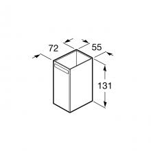 Vaso de encimera Rubik Roca