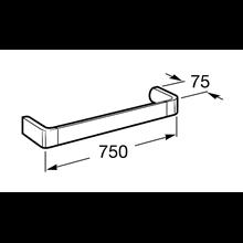 Toallero lavabo 75cm Select Roca