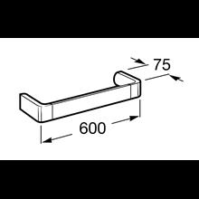 Toallero lavabo 60cm Select Roca