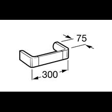 Toallero lavabo 30cm Select Roca