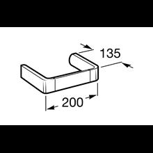 Toallero bidé 20cm Select Roca
