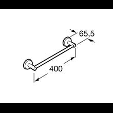 Toallero lavabo 40,2cm Twin Roca