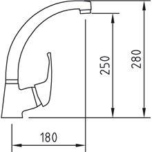 Grifo de fregadero PANAM 28