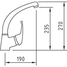 Grifo de fregadero PANAM 27