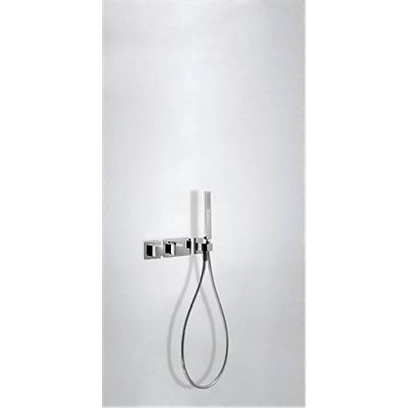Conjunto de ducha termostático 2 vías TRES C