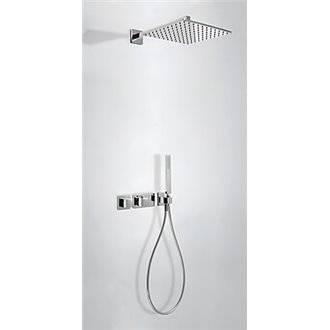 Kit de ducha termostático 2 vías TRES C