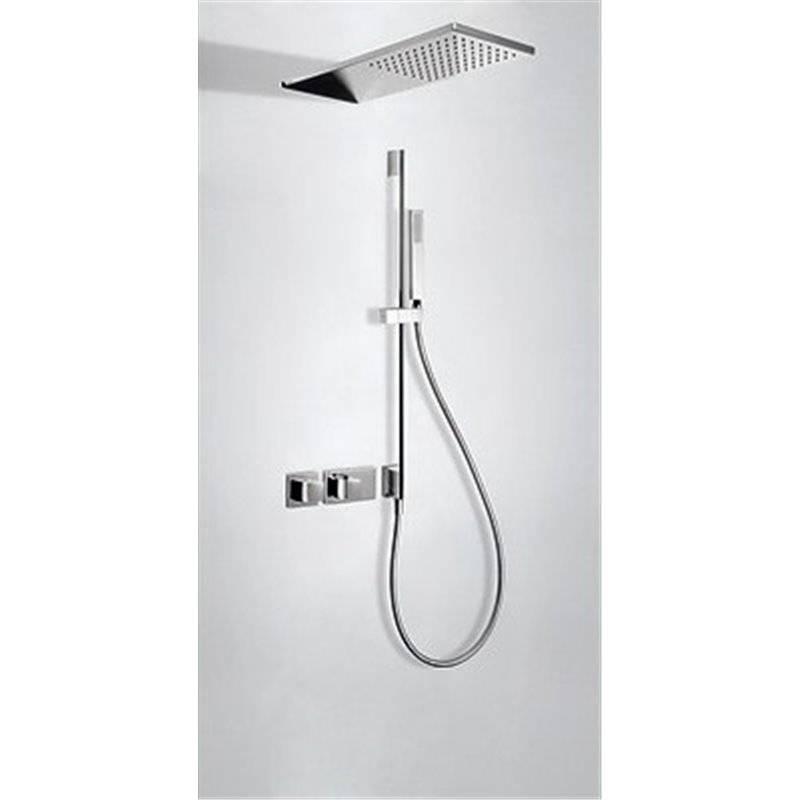 Kit de ducha termostático 2 vías TRES R+
