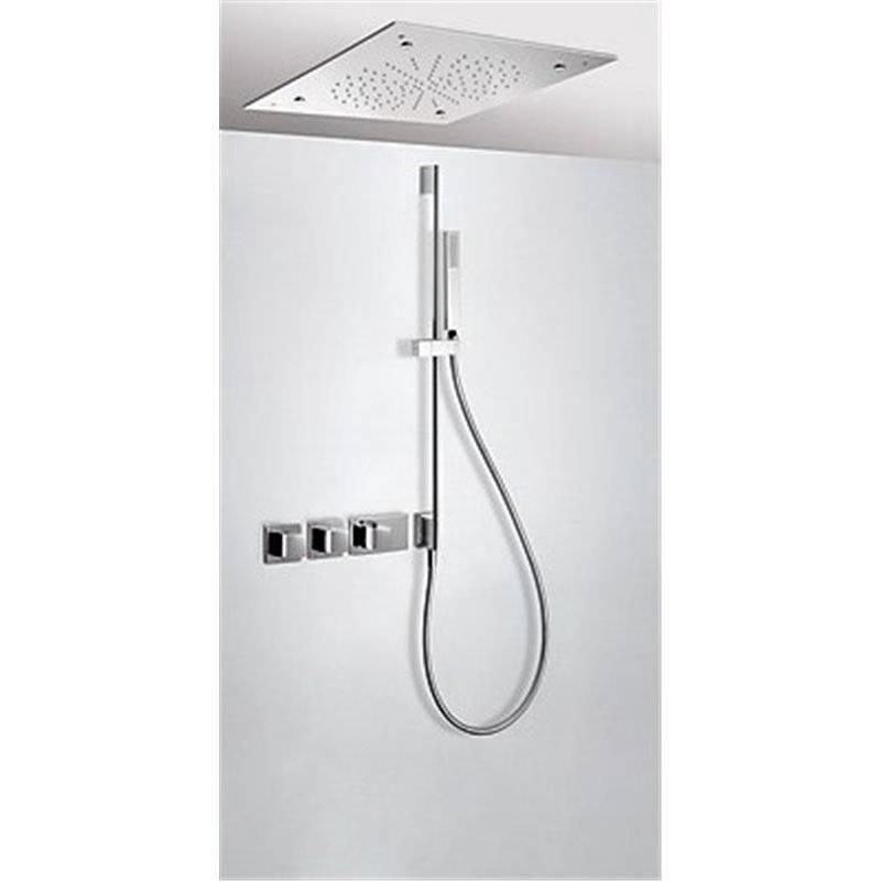 Kit de ducha termostático 3 vías TRES Nebulizador+