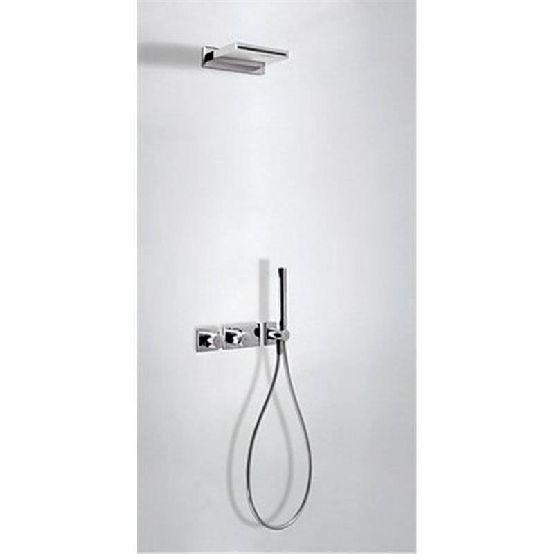 Kit de ducha termostático 2 vías Cascada TRES