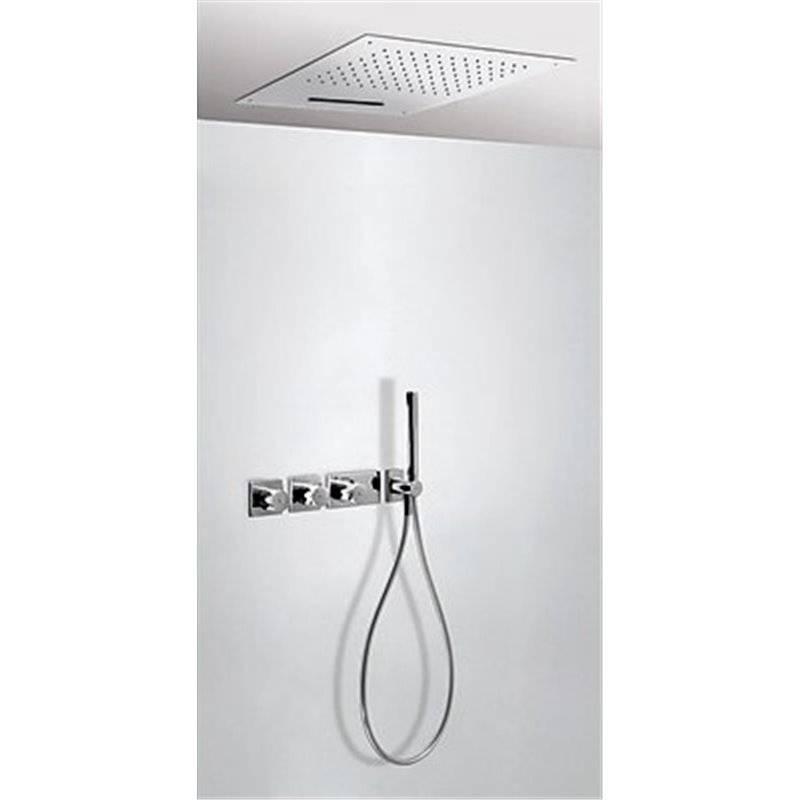 Kit de ducha termostático Cascada 3 vías TRES RTC