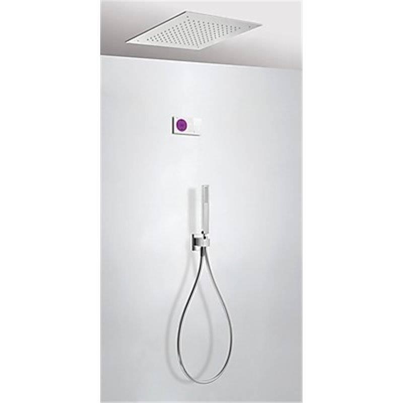 Kit de ducha termostático electrónico TRES RT 38x38