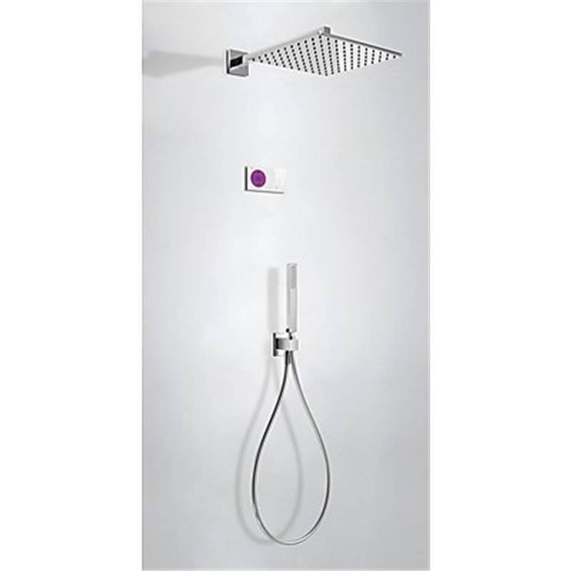 Kit de ducha termostático electrónico TRES BRM