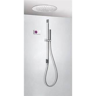 Kit de ducha termostático electrónico TRES RT+ Ø50