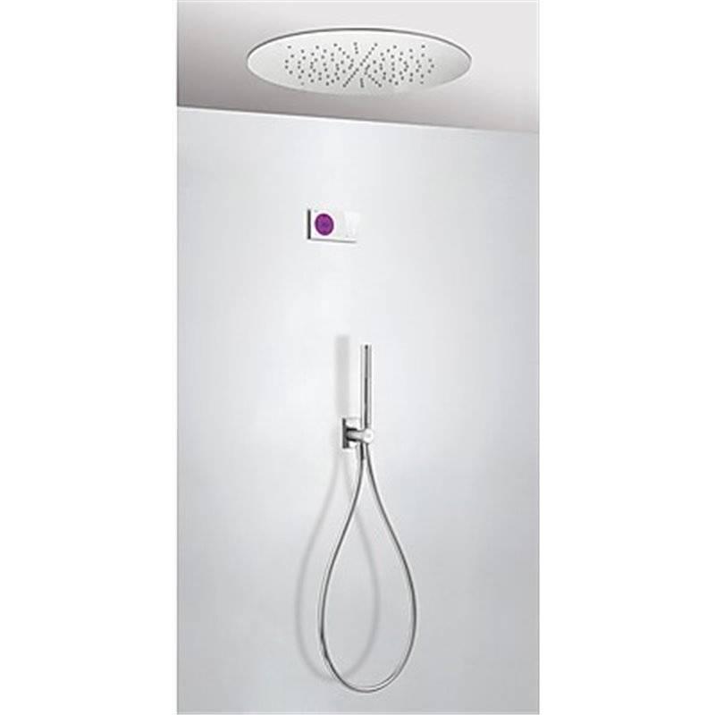 Kit de ducha termostático electrónico TRES RT Ø50