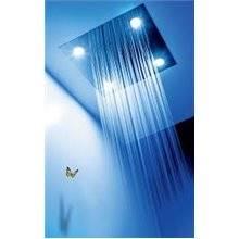 Kit de ducha termostático electrónico Cromoterapia TRES C