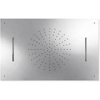 Rociador de techo Cascada 2 funciones TRES 50x80