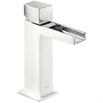 Grifo de lavabo Cascada Blanco CUB SLIM TRES
