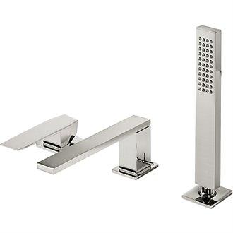 Combinación para bañera Acero TRES SLIM 18cm