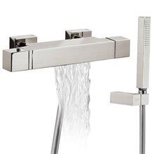 Kit de Bañera-Ducha termostática Ac TRES SLIM