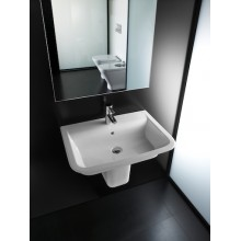 Lavabo semipedestal The Gap 55x47cm Roca